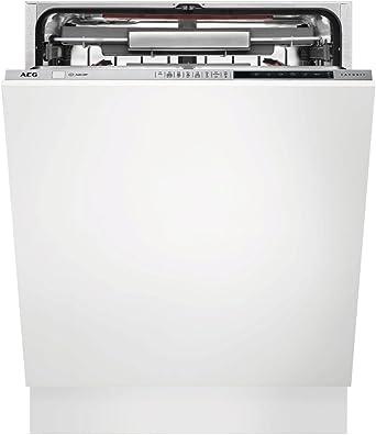 AEG FSE83800P lavavajilla Totalmente integrado 13 cubiertos A+++ - Lavavajillas (Totalmente integrado, Tamaño completo (60 cm), Acero inoxidable, Botones, Frío, Caliente, Natural): 831.27: Amazon.es: Grandes electrodomésticos