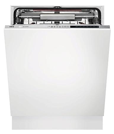 AEG FSE83800P lavavajilla Totalmente integrado 13 cubiertos A+++ - Lavavajillas (Totalmente integrado, Tamaño completo (60 cm), Acero inoxidable, ...