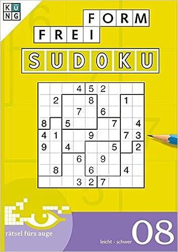 Freiform Sudoku 08 Freiform Sudoku Taschenbuch Logik Rätsel