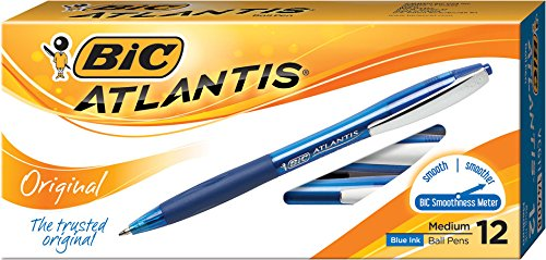bic-atlantis-original-retractable-ball-pen-medium-point-10-mm-blue-12-count