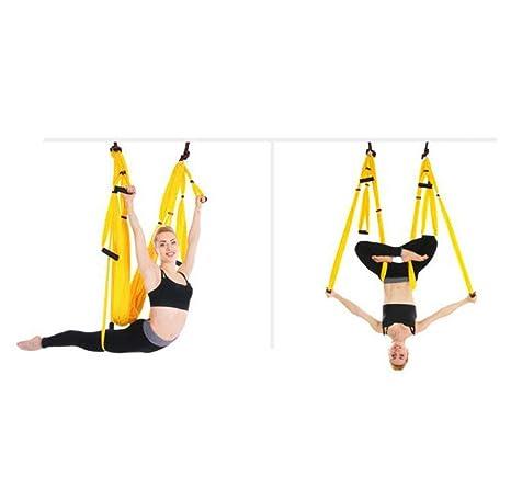 HSRG Aerial Yoga Swing Yoga Hammock Kit, para Ejercicio ...