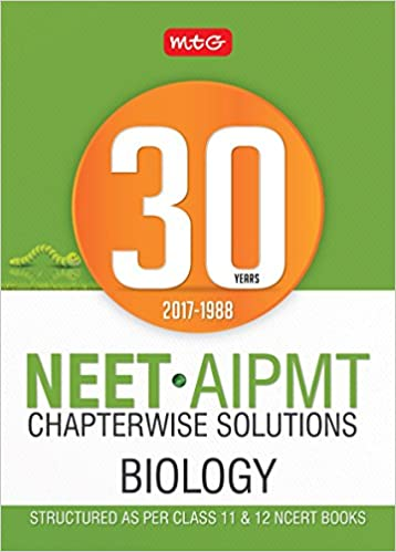 buy 30 years neet aipmt chapterwise solutions biology book online