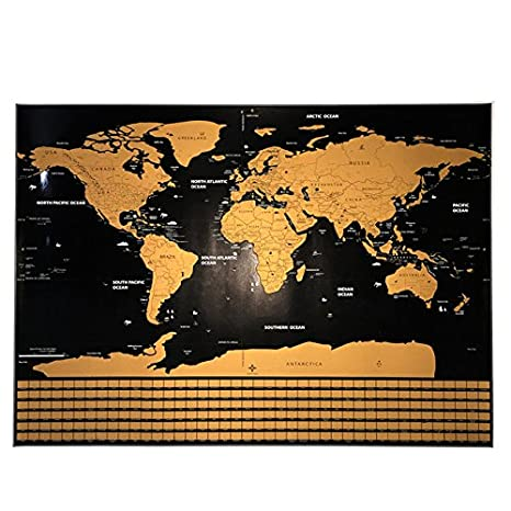 Deluxe home travel scratch map personalized world map poster deluxe home travel scratch map personalized world map poster vacation national geographic world map wall sticker gumiabroncs Image collections