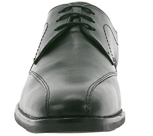 Harrykson Sleek Chaussures en Cuir Véritable Pour Homme Noir 55855