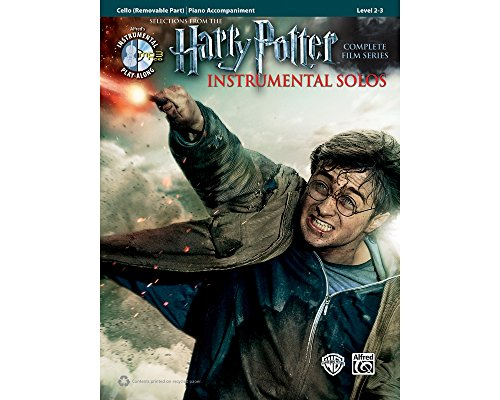 (Alfred Harry Potter Instrumental Solos for Strings - Cello (Book/CD))