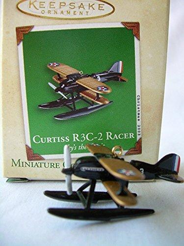 Sky's the Limit Miniature #3 Curtiss R3C-2 Racer Hallmark 2003 QXM4877
