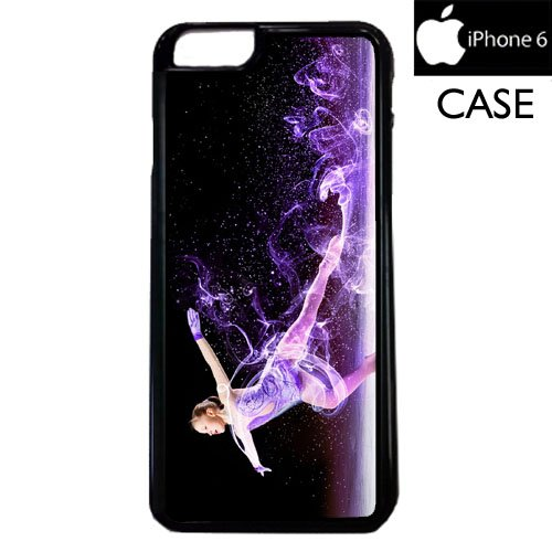 Ice Skating Apple iPhone 6 PLASTIC cell phone Case / Cover Great Gift Idea (Iphone 4s Ice Skating Case)