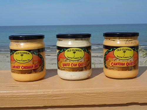 Old Florida Gourmet Assorted Cheese Dip Gift Box (Gourmet Dip)