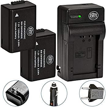 Amazon.com : Wasabi Power Battery (2-Pack) and Charger for ...
