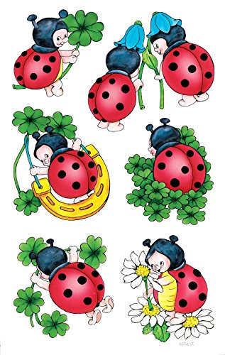 Avery Zweckform 53281 Decoration Decal, Ladybug, 12 ()
