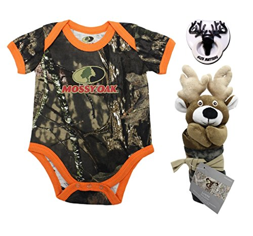 Mossy Oak Camo Infant Bodysuit with True Timber Deer for sale  Delivered anywhere in USA