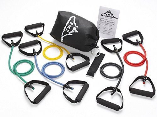 Black Mountain Products Resistance Band Set (5 Bands Included) – DiZiSports Store