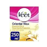 veet warm wax - Veet Oriental Wax Essential Oils & Floral Vanilla Fragrance 250Ml