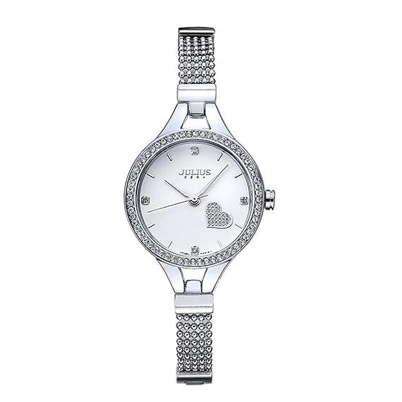 Versión coreana con forma de mujer de moda de diamantes/Reloj de mujer de tendencia