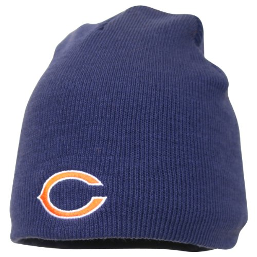 (Chicago Bears Official NFL One Size Knit Beanie)