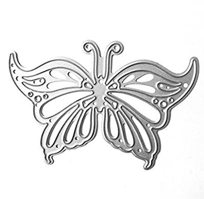 Singleluci Metal Cutting Dies Stencil Template for DIY Scrapbook Album Paper Card Craft Decoration