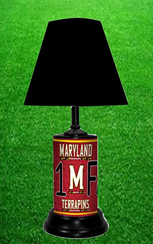 MARYLAND TERRAPINS NCAA LAMP - BY TAGZ (Ncaa Maryland Terrapins Sports Table)