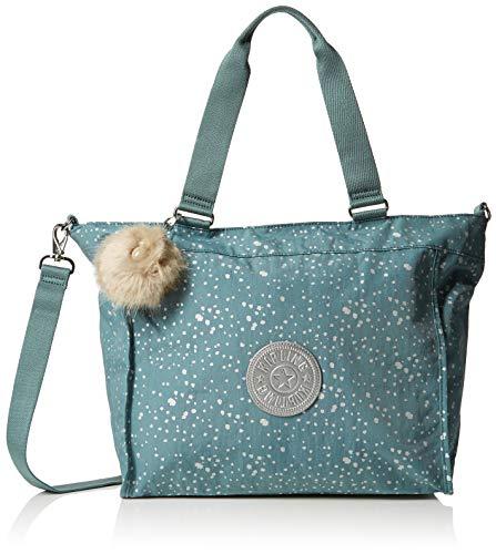 Kipling - New Shopper L, Borse Tote Donna Blu (Silver Sky)
