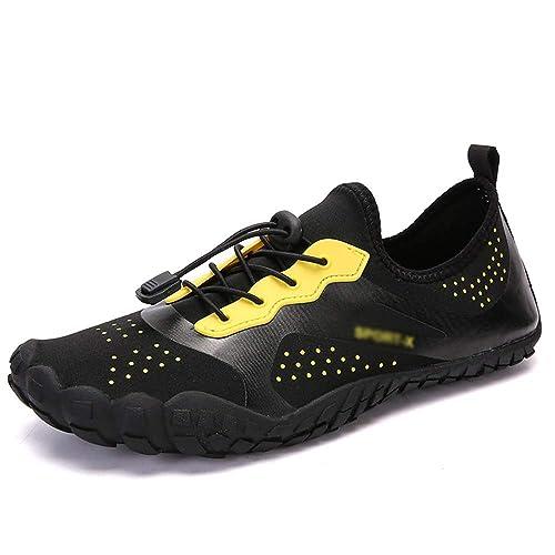 HAIZHEN sandalias, Zapatos de Playa, Zapatos de natación Antideslizantes Descalzos, Zapatos de Secado rápido para Hombres: Amazon.es: Zapatos y complementos