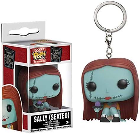 B70 Yujin Nightmare Before Christmas figure Love Together Keychain Sally