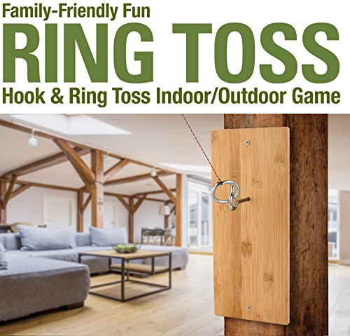 (National Hardware Ring Toss Hook and Ring Indoor/Outdoor)