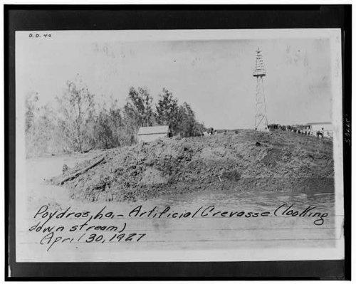 Photo: Poydras,St Bernard Parish,Saint,LA,Louisiana,1927 Flood - St Poydras