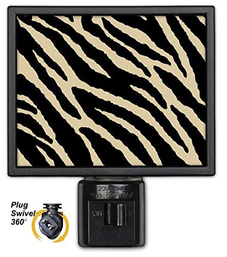 Art Plates NL-887 Tan Zebra Night Light
