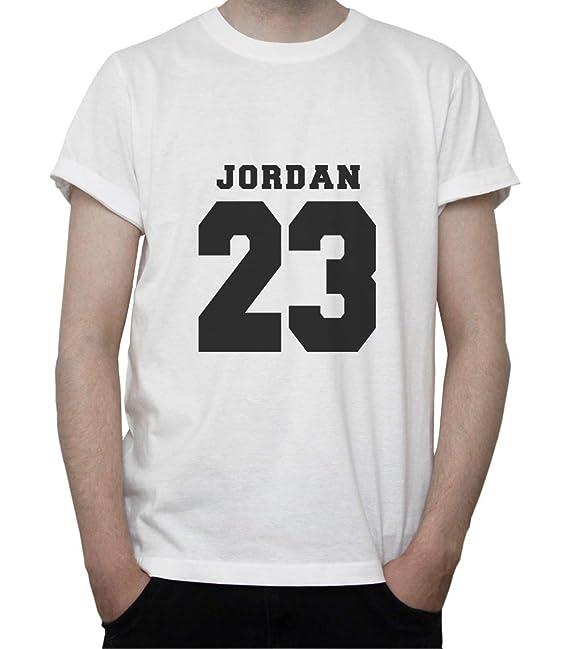 Basketball Memorabilia. NBA Inspired Artwork. Jordan 23 Mens T-Shirt Small