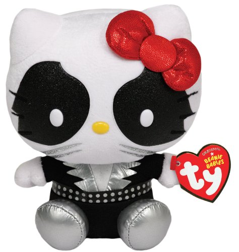 [Ty Beanie Babies Hello Kitty Plush, Kiss Catman] (Kiss Catman Makeup)