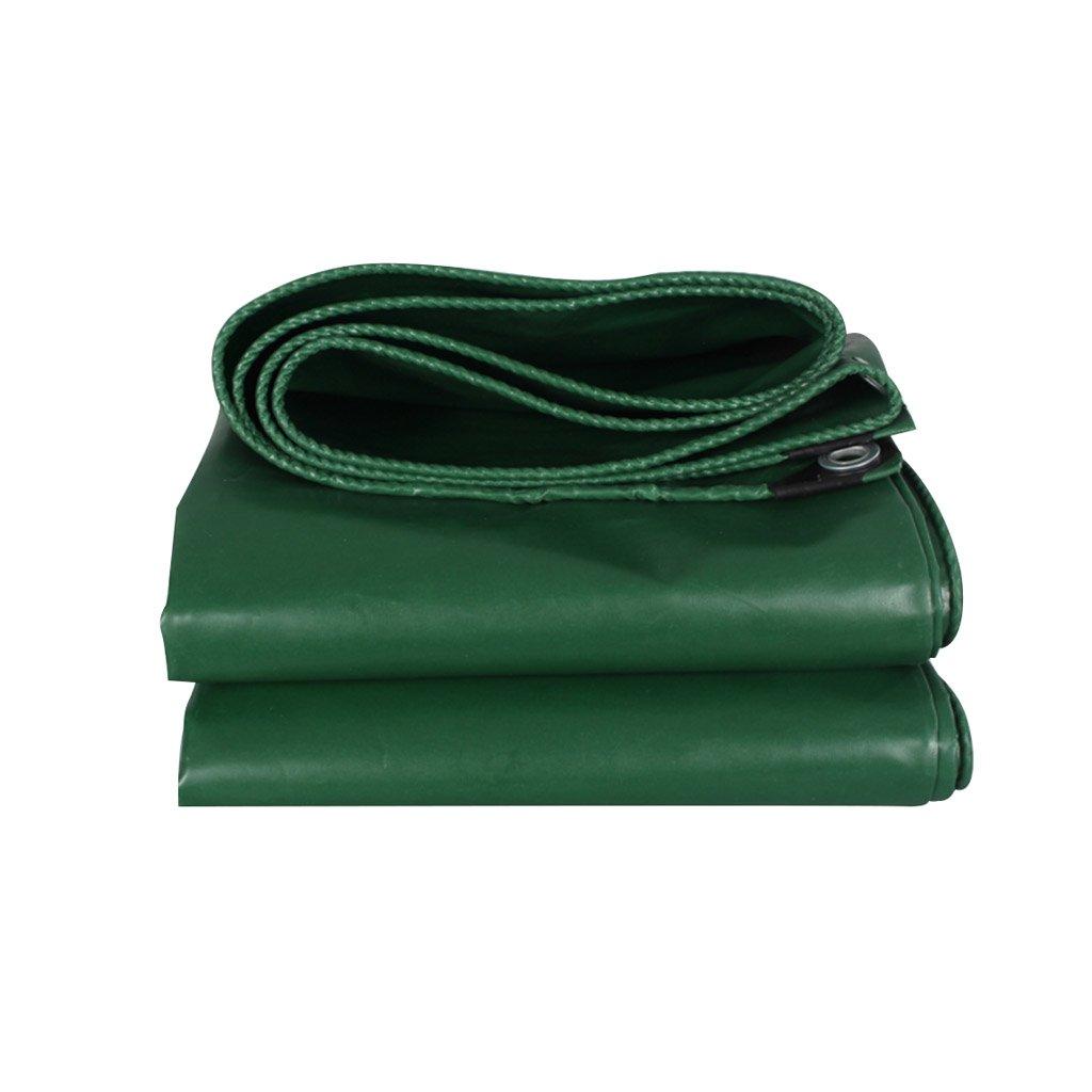 タープ ターポリングリーンキャンバス防水日焼け止めポンチョキャンプガーデンアウトドア、厚さ0.45 MM、500 G / M2、12サイズオプション (サイズ さいず : 3 * 3m) 3*3m  B07GXLJZQH