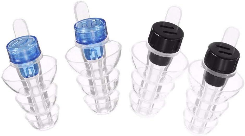 Reutilizables para conciertos y Clubes con Caja de Aluminio Ajuste Personalizado STRUGGGE Tapones para los o/ídos para Dormir de Silicona Suave