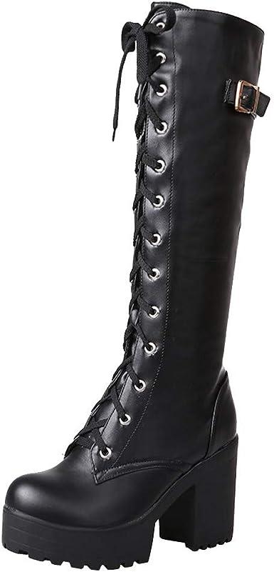 Kinrui Women Shoes Womens Winter Knee