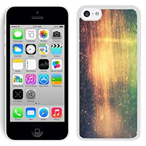 Customized Phone Case Design with Instagram Effect Colorful Scratches iPhone 5C Wallpaper in White