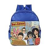 Kids Bob's Burgers School Backpack Cartoon Baby Boys Girls School Bags