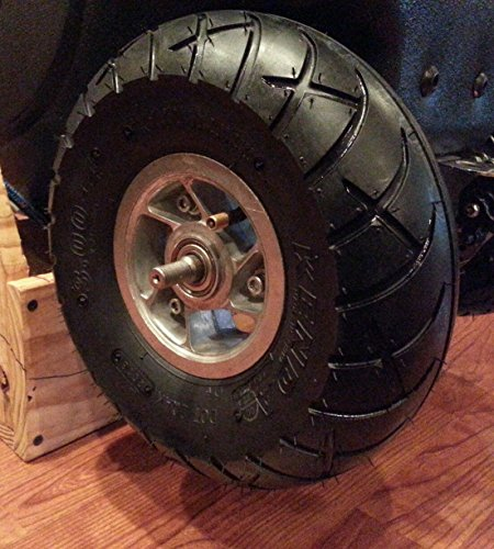 tty Replacement BEST QUALITY Tire & Inner Tube For Cruzin Cooler ()
