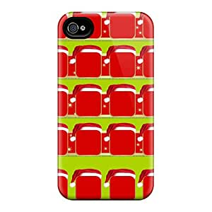 New Diy Design Christmas Shelf For Iphone 4/4s Cases Comfortable For Lovers And Friends For Christmas Gifts