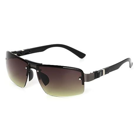 Kimruida UV400 - Gafas de Sol para Hombre, Resistentes al ...
