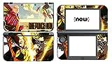 Vanknight Vinyl Decals Skin Sticker One Punch Man Saitama Genos for the New Nintendo 3DS XL 2015