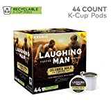 Laughing Man Hugh Jackman Single-Serve Fair Trade Keurig Recyclable K-Cup Arabica Coffee Pods