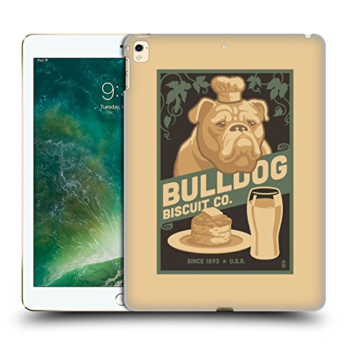 Polycarbonate Lanterns Collection (Official Lantern Press Bulldog Dog Collection Hard Back Case for Apple iPad Pro 12.9 (2017))