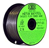 MIG Welder - INETUB BA71TGS .030-Inch on 2-Pound Spool Carbon Steel Gasless Flux Cored Welding Wire