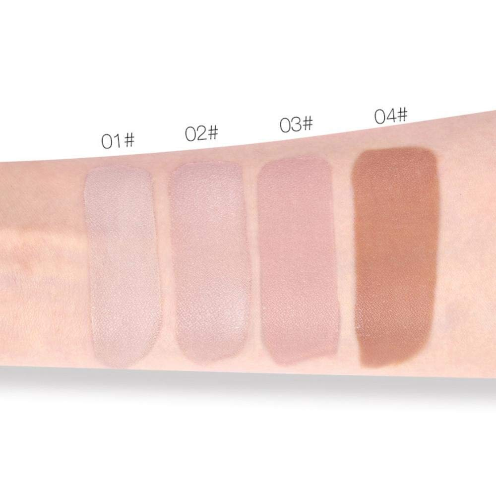 High Moisturizing Concealer Makeup Face Contour Liquid Blemish Flaw Cover for All Skin Type (1) Brrnoo