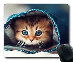 Mouse Pad Cat Hqih Desktop Laptop Mousepads Comfortable Office Mouse Pad Mat Cute Gaming Mouse Pad