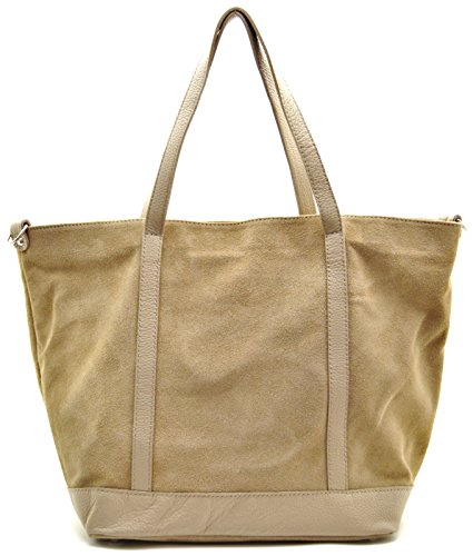Donna Bag Borsa Modello Irupu Oh My Nubuck Mano Shopping A Chiaro Taupe UZqfCwxY