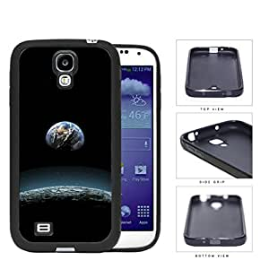 Earth Aerial View From The Moon Rubber Silicone TPU Cell Phone Case Samsung Galaxy S4 SIV I9500