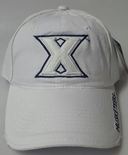 New Xavier Musketeers White Buckle Hat