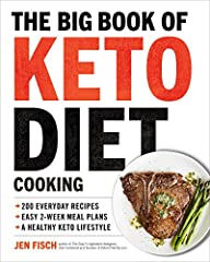 The Big Book of Ketogenic Diet Cooking is the ultimate bible to maintain a healthy keto lifestyle with the biggest selection of recipes, meal plans, nutritional information, and more!               The biggest thing to happen ...