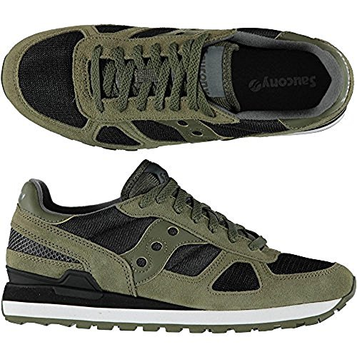 Olive Shadow Noir Baskets Original Black Saucony Homme Basses COYxAdCqw