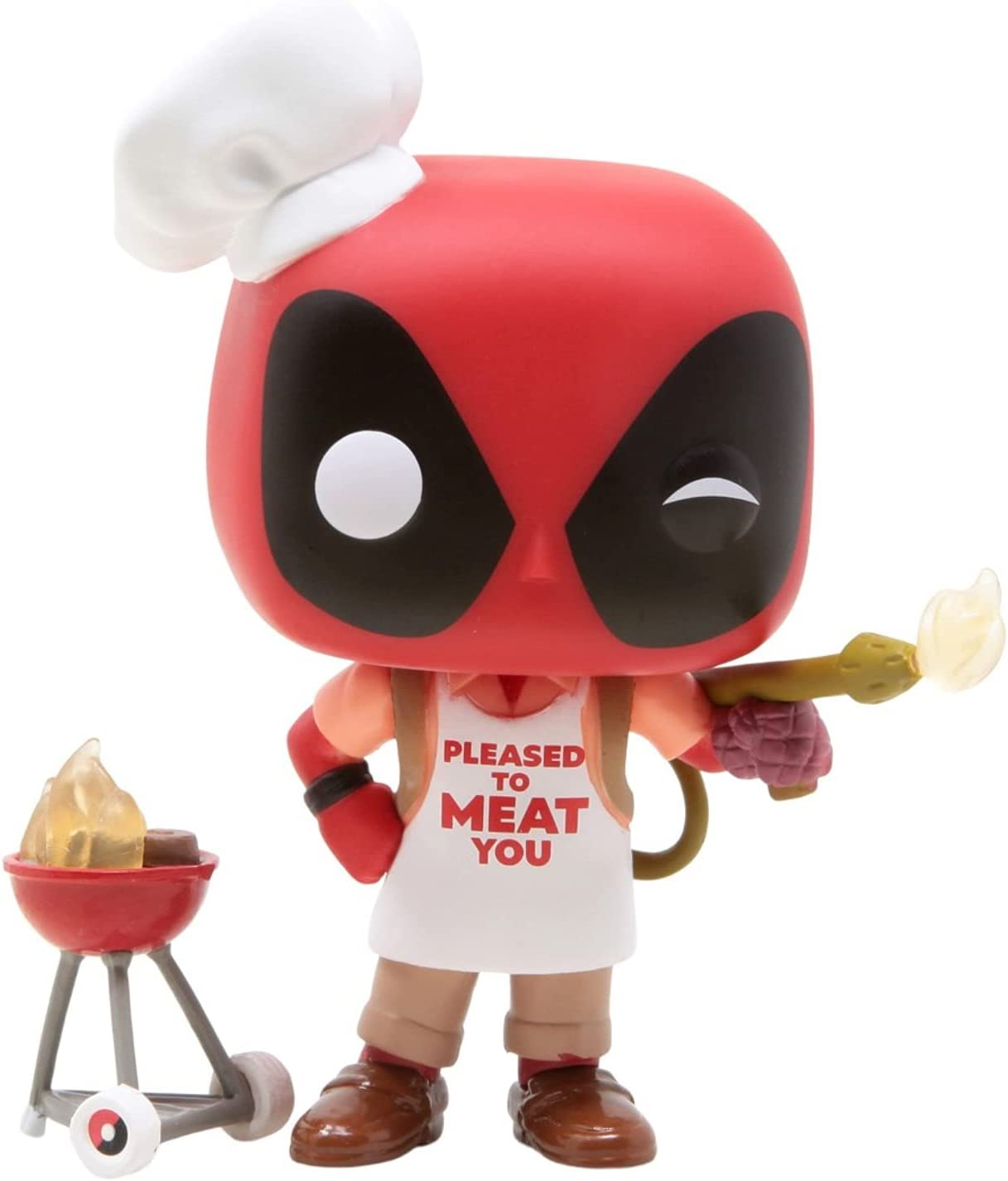 Marvel Deadpool 30th Funko Pop Deadpool With Birthday Glasses 783 Big Apple Collectibles