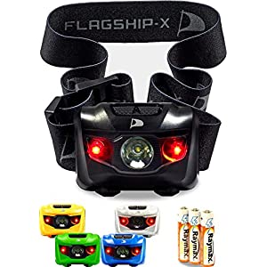 Insane Sale Flagship-X Waterproof CREE LED Camping Headlamp Flashlight For Running Black